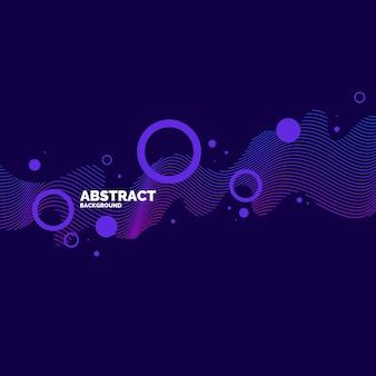 Trendy abstracte kunstachtergrond met minimalistische stijl. vectorposter met elementen voor ontwerp