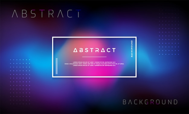Trendy abstracte vloeibare achtergrond.