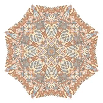 Trendy afrikaanse tribale naadloze patroon voor stof. boheemse nomadische stijl doodle handgetekende kunst.