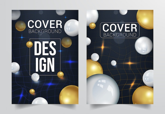 Trendy cover achtergrond