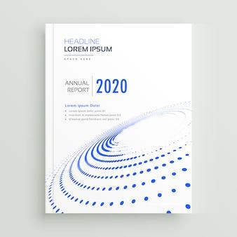 Trendy creatieve zakelijke brochure flyer