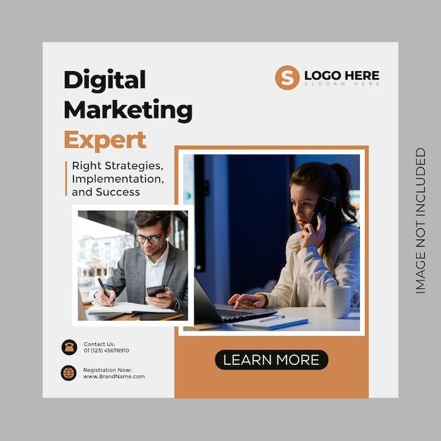 Trendy en minimalistisch design social media post en webbannersjabloon voor digitale marketing. bewerkbare promotieontwerp merkmode en ander product. bewerkbaar bedrijfs- en instagram-concept