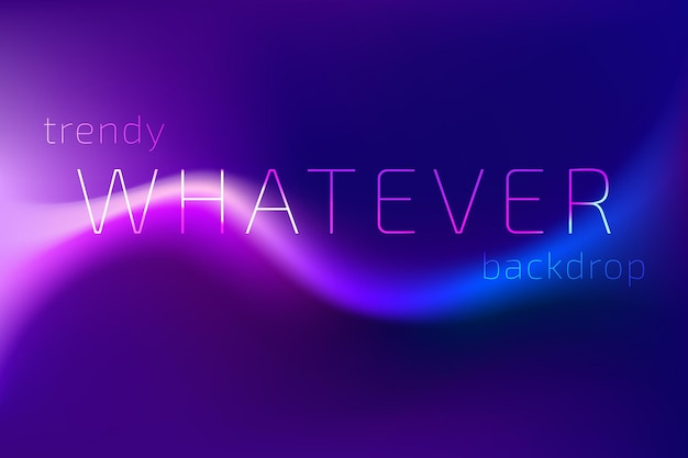 Trendy kleurrijke vloeiende gradiëntvormachtergrond met plaats voor tekst