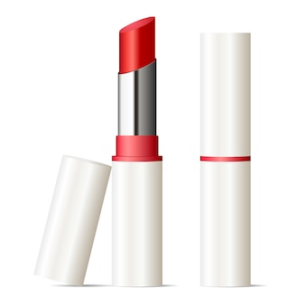 Trendy lippenstift mock-up set