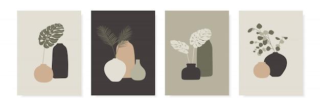 Trendy ontwerp voor wenskaarten, uitnodigingen, posters.