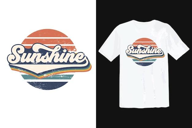 Trendy t-shirtontwerp, vintage typografie en belettering, retro slogan