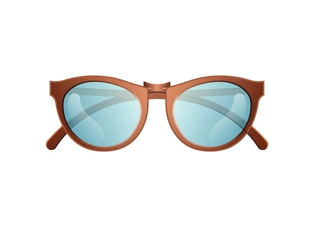 Trendy zonnebril geïsoleerde vector