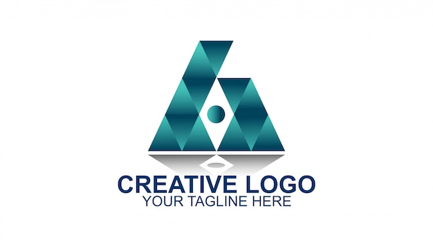 Triangle creative logo