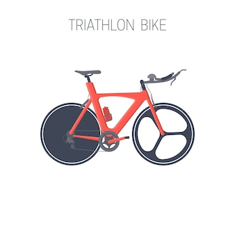 Triatlonfiets. sport pictogram.