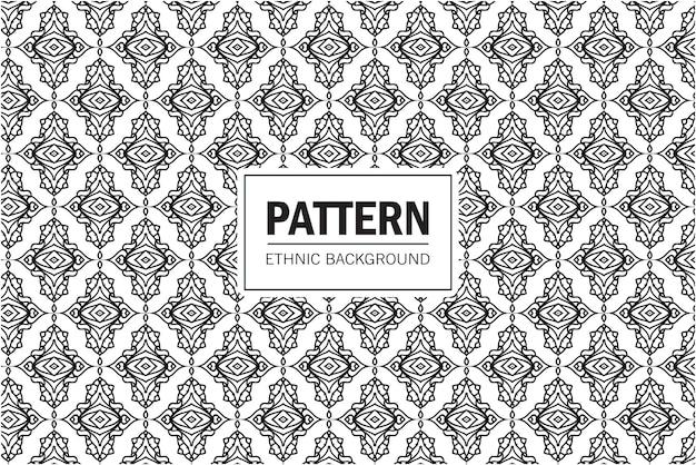 Tribal azteekse naadloze patroon. geometrische achtergrond met etnische motieven. ontwerp in boho-stijl voor afdrukken op textiel of papier.
