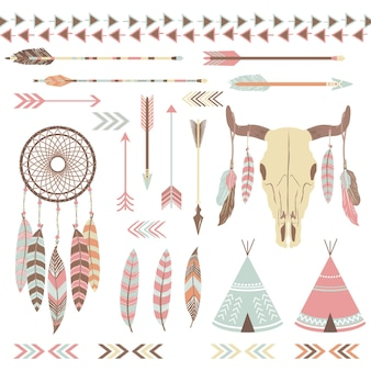Tribal indiase elementen