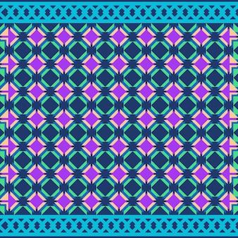 Tribal naadloos patroon geometrisch naadloos azteeks patroonontwerp