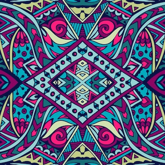 Tribal vector abstracte geometrische etnische naadloze patroon sier