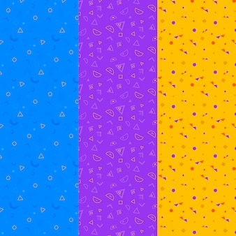 Trichromatisch geometrisch patroonpakket