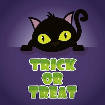 Trick or treat, gelukkig halloween