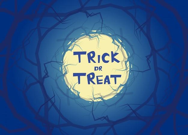 Trick or treat halloween-achtergrond
