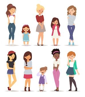 Trieste meisjes