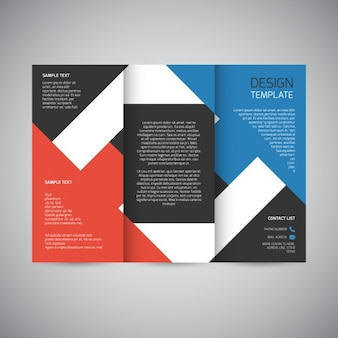 Trifold brochure ontwerp