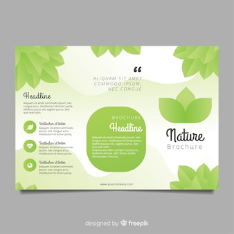 Trifold natuurvlieger