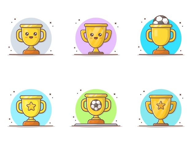 Trofee collecties icoon