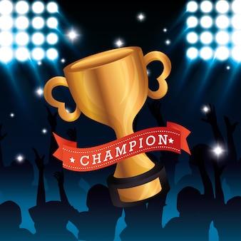 Trofee gouden onderscheiding