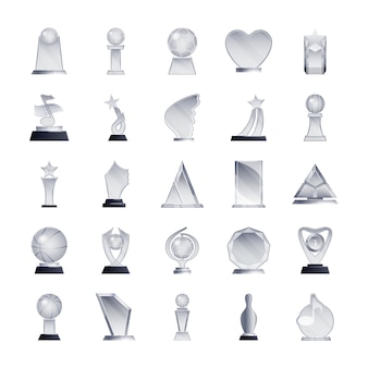 Trofeeën iconenbundel