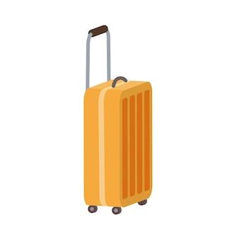 Trolley tas platte illustratie ontwerp geïsoleerd