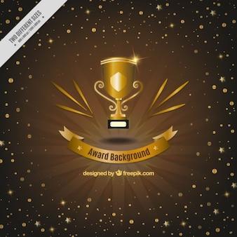 Trophey award achtergrond