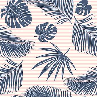 Tropisch bos van de zomermarine