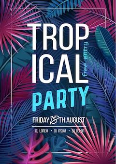 Tropisch feest