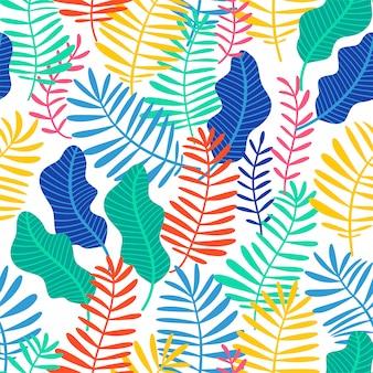 Tropisch naadloos patroon