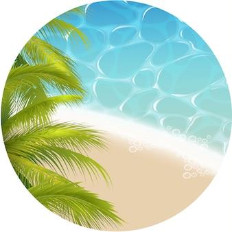 Tropisch paradijsthema