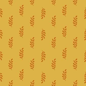 Tropische naadloze patroon met bloemen bladeren takken silhouetten.