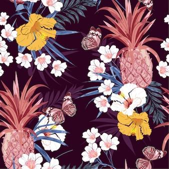 Tropische patroon achtergrond