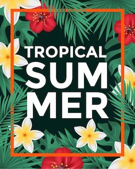 Tropische poster