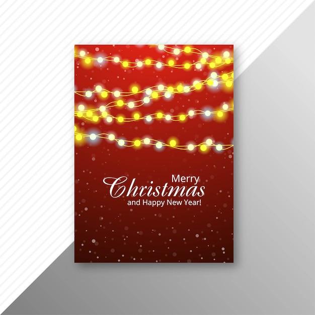 Trouw kerst folder sjabloon
