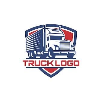 Truck logo vector stock afbeelding