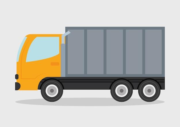 Truck ontwerp. vervoer pictogram. vlakke afbeelding