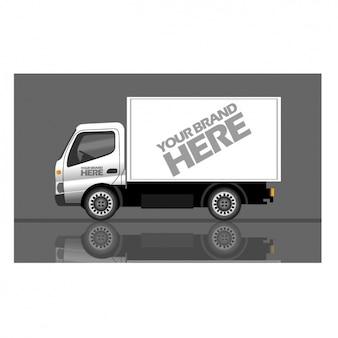 Truck voor het merk