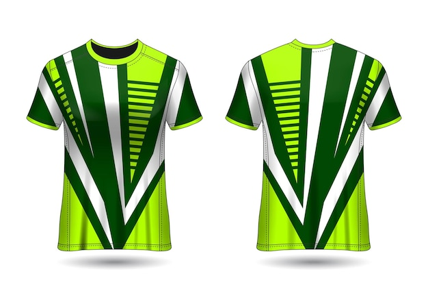 Tshirt sport design racing jersey vector