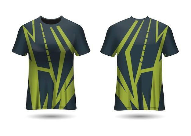 Tshirt sport design racing jersey voor club