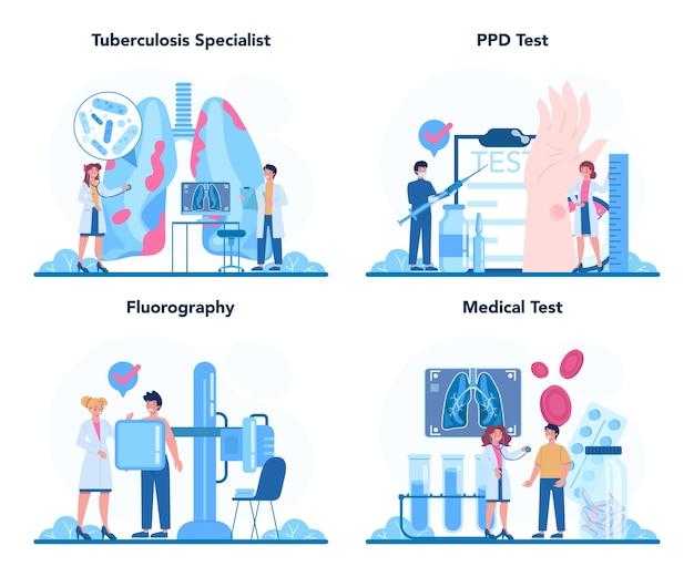 Tuberculose specialist set