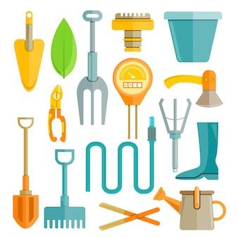 Tuingereedschap en gereedschap voor plantenverzorging