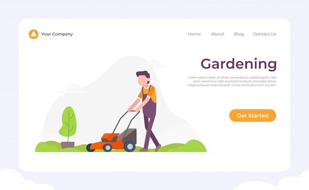 Tuinieren bestemmingspagina