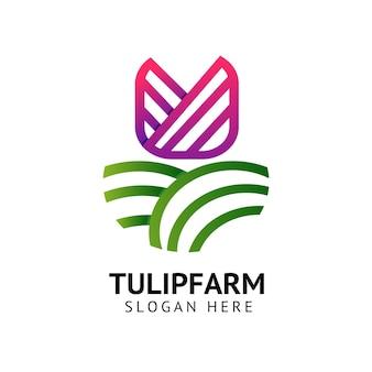 Tulpenboerderij logo