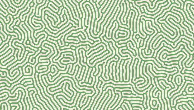 Turing patroon structuur organische lijnen achtergrondontwerp