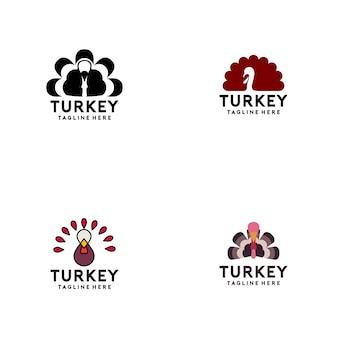 Turkije logo-collectie