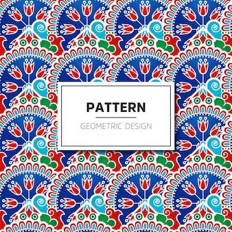 Turks naadloos patroon