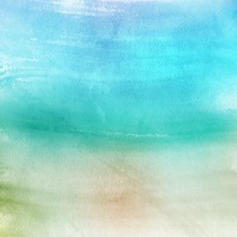 Turquoise aquarel textuur