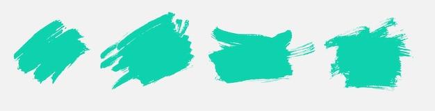 Turquoise grunge textuur aquarel decorontwerp